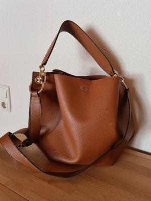 Guess Est 1981 Pouch Bag cognac-coloured