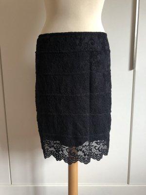 Jus d'Orange Lace Skirt black