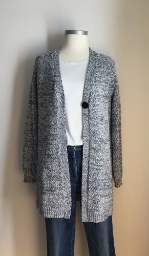 Betty Barclay Knitted Cardigan white-dark blue cotton