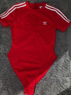 Neuwertiger T-Shirt Body in rot von Adidas Originals