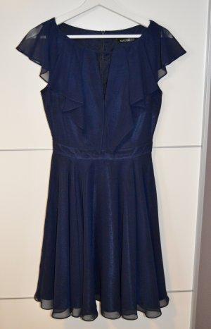 Swing Cocktail Dress blue-dark blue