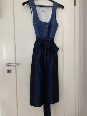 Loden Frey Vestido Dirndl azul aciano-azul oscuro