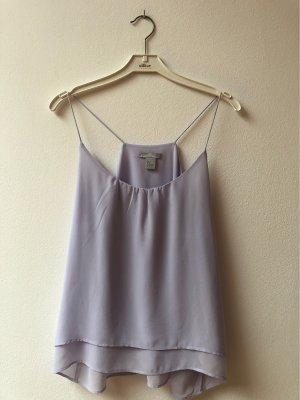 H&M Top de tirantes finos lila