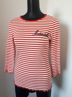 Dorothy Perkins Gestreept shirt wit-rood