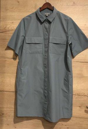 COS Abito blusa camicia grigio ardesia