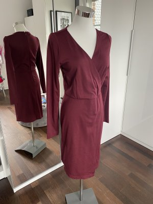 Boysen's Sukienka z długim rękawem bordo