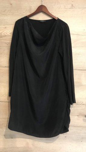 COS Robe mi-longue noir