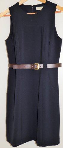 Michael Kors Vestido ceñido de tubo azul oscuro-marrón
