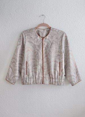 Neuwertiges kurzes Jäckchens Jacke von Rituals Größe M Kupfer Perlmutt