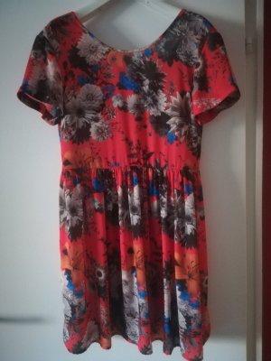 Pepe Jeans Sukienka midi czerwony-niebieski