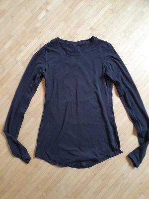 Neuwertiges Lululemon Yoga-/Sportshirt, schwarz, Gr. 6
