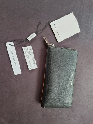 Marc Jacobs Wallet black-cognac-coloured leather