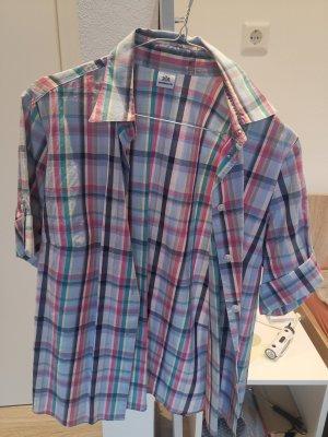 Walbusch Camicia a maniche corte multicolore