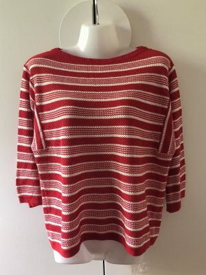 & other stories Oversized Sweater red-white