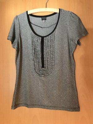 1.2.3 Paris T-shirt grijs-zwart Lycra