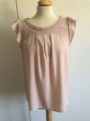 Hallhuber T-shirt nude-różany