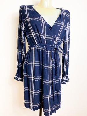 neuwertiges Statement Kleid - Blusenkleid - Kariert