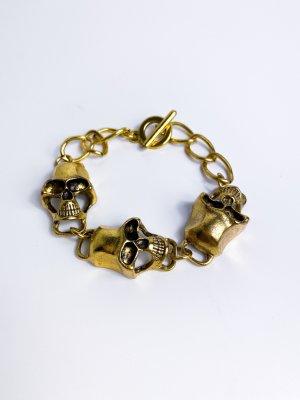 neuwertiges Totenkopf Armband aus London - Skull