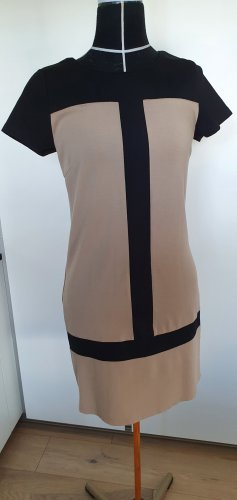 Neuwertiges un deux trois 123 Paris NP 165€ Kleid Strickkleid Jersey Courage Stil Sixties Look 34
