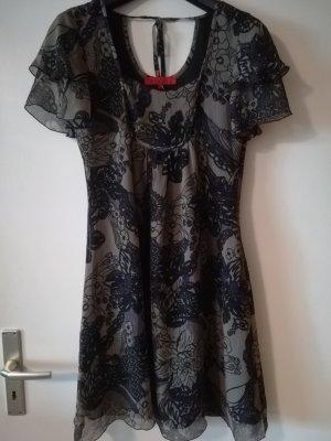 Neuwertiges Volants Kleid von HALLHUBER DONNA, Gr.34