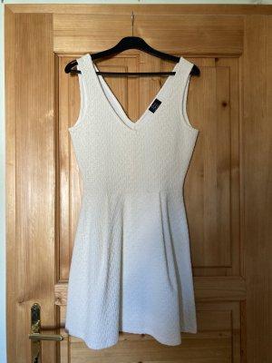 Neuwertiges weißes ZARA-Kleid