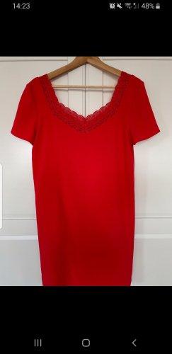 Sezane Midi Dress red