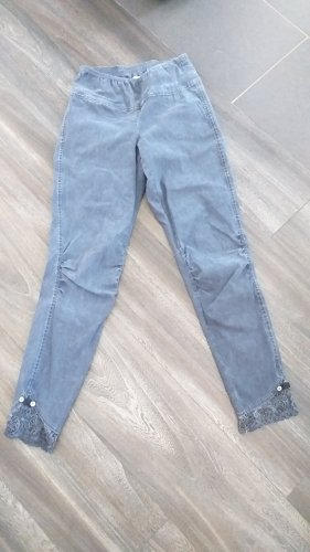 Tredy Pantalone a 7/8 blu neon