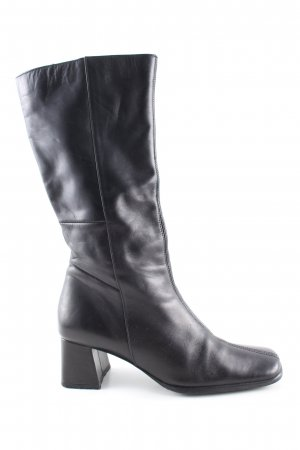 Never 2 Hot Absatz Stiefel schwarz Business-Look