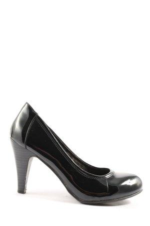 Never 2 Hot High Heels schwarz Business-Look