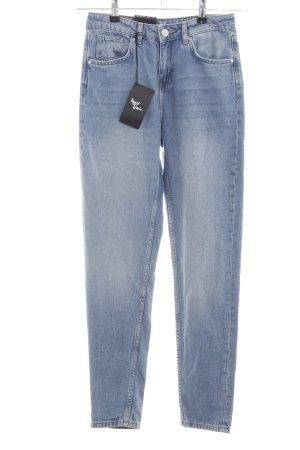 Never Denim High Waist Jeans blau Casual-Look