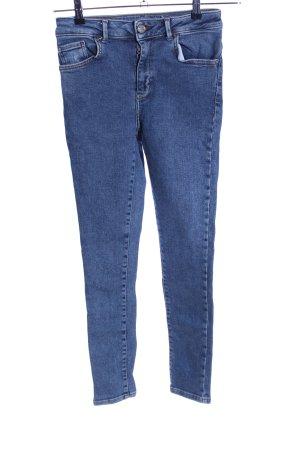 Never Denim Skinny Jeans blau Casual-Look
