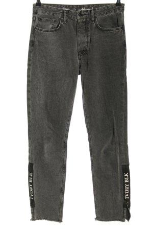 Never Denim Slim Jeans hellgrau Casual-Look