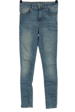 Never Denim Slim Jeans blau Casual-Look