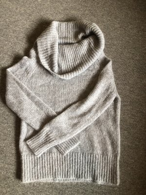 COUNTRY ROAD Turtleneck Sweater light grey