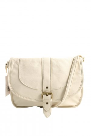new bags Schultertasche weiß Casual-Look