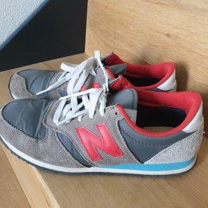 New Balance 420 Sneaker Turnschuhe grau rot blau 40
