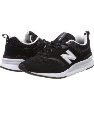 New Balance Lace-Up Sneaker black