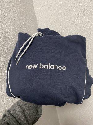 New Balance Hooded Sweater white-cornflower blue