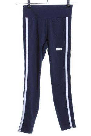 New Balance Leggings blau-weiß Casual-Look