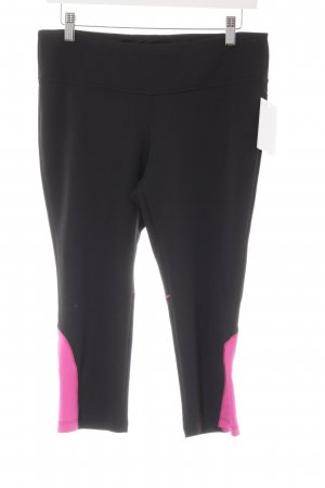 New Balance Leggings black-magenta athletic style