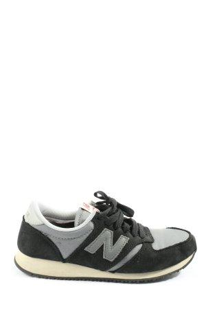 New Balance Schnürsneaker schwarz-hellgrau sportlicher Stil