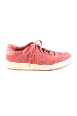 New Balance Schnürsneaker rot sportlicher Stil