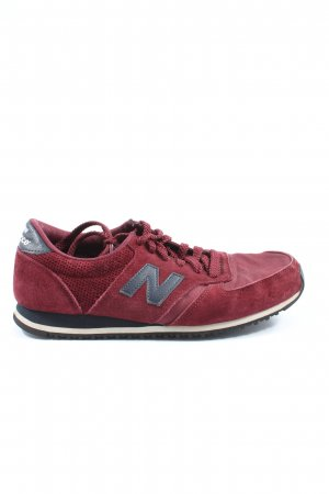 New Balance Schnürsneaker rot Casual-Look