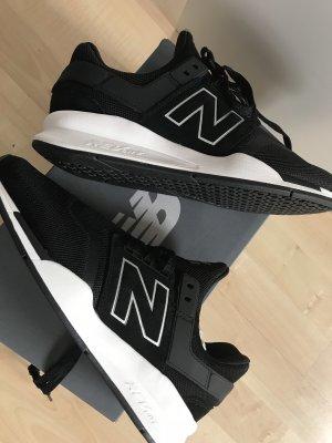 New Balance Sneaker slip-on nero-bianco