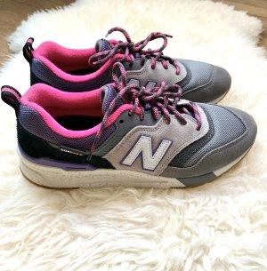New Balance sneaker low 997 grey purple in 38