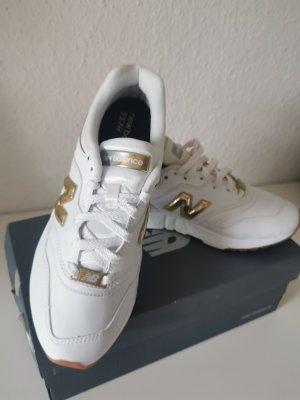 new balance sneaker weiß gold 38 NEU