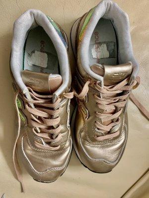 New Balance Sneakers 574 Metallic Rosa