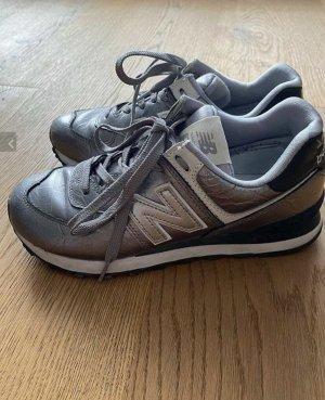 New Balance sneakers 574 silber grau gunmet Gr 38