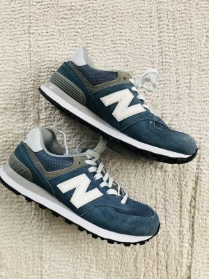 New Balance Sneakers / blau-weiss / Gr. 38