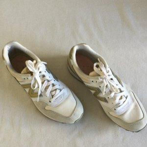 New Balance Sneakers Gr. 37,5 beige weiß gold Turnschuhe neuw. Damen